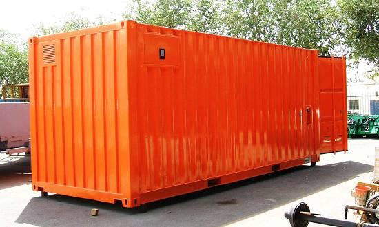 Foto de Contenedores para transporte de carga