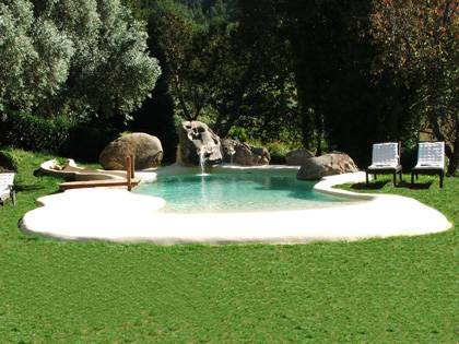 Piscina de arena natursand casas rurales piscinas spas for Construccion de piscinas de arena en argentina
