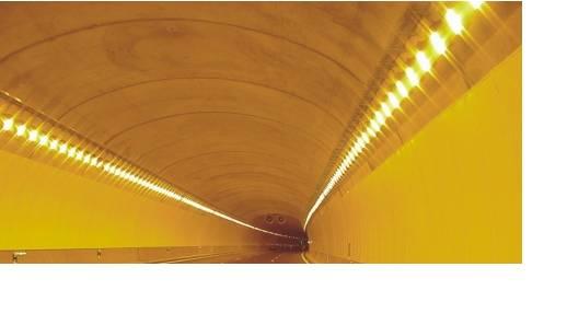 Foto de Iluminaciones en túneles y autopistas