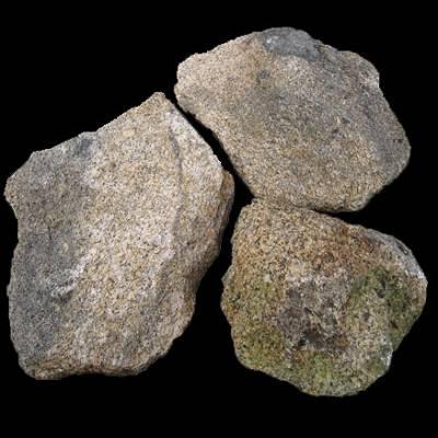 Fotografia de Pedra de molsa granítica