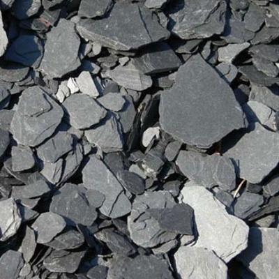 Machaqueo de pizarras negro natur piedra materiales para - Piedra de pizarra ...