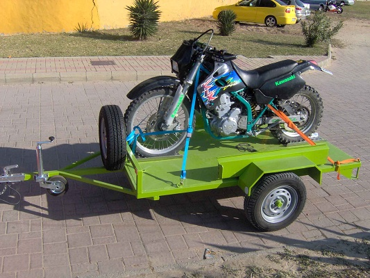 Foto de Remolque- plataforma para motos