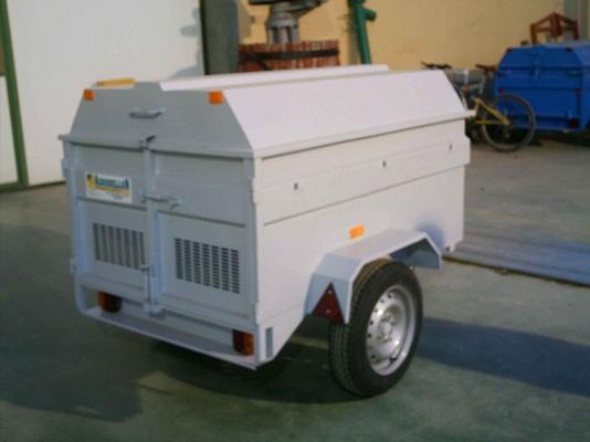 Foto de Remolque para transporte de perros