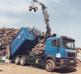 Foto de Grúas forestales y de reciclaje