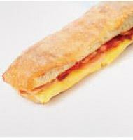 Foto de Chapata de bacon y queso