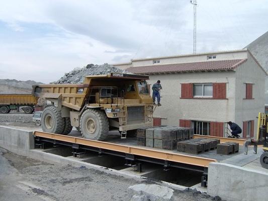 Foto de Básculas-puente de sobresuelo para canteras