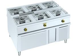 Foto de Cocinas centrales de 6 fuegos + horno