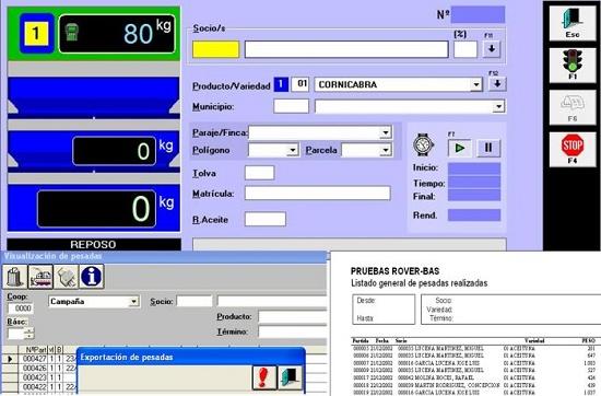 Foto de Software de pesaje en continuo en almazara