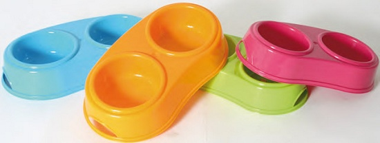 Foto de Comederos dobles de plástico