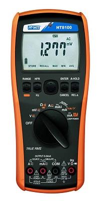 Foto de Multímetro digital y calibrador de procesos