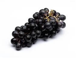 Foto de Uvas negras con pepitas