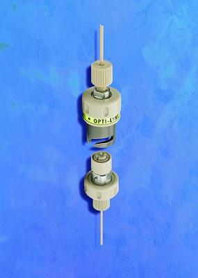 """Foto de """"Un sistema de conexión rápida soporta toda la presión de HPLC"""""""