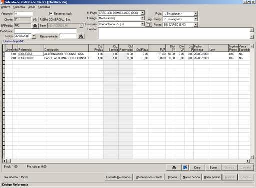 Foto de Software de gestión para distribuidores de recambios