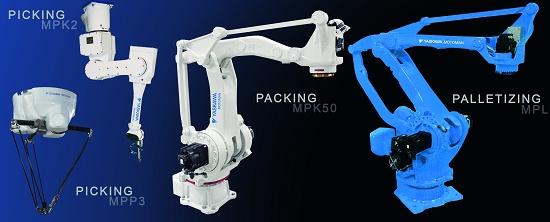 Foto de Robots para picking, packaging y paletizado