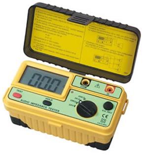 Foto de Medidores de impedancia de audio