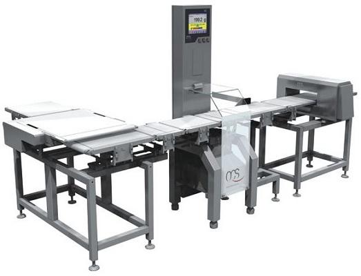 Foto de Sistema compuesto de pesadora dinámica y detector de metal