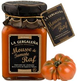 Foto de Mousse de tomate raf