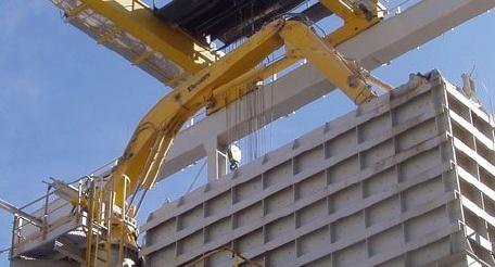 Fotografia de Braços de pedestal per a treballs pesats