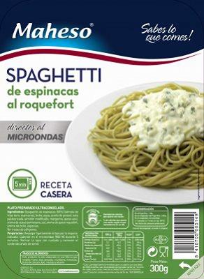 Foto de Spaghetti de espinacas
