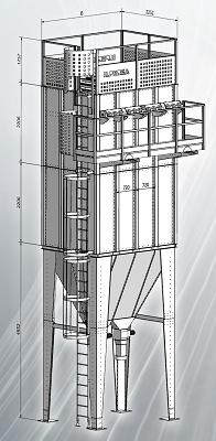 Foto de Filtros de mangas modular