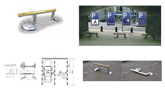 Foto de Protectores de parking privado