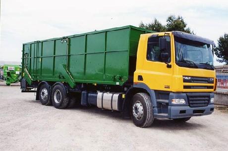 Foto de Camiones repartidores de dos compartimentos