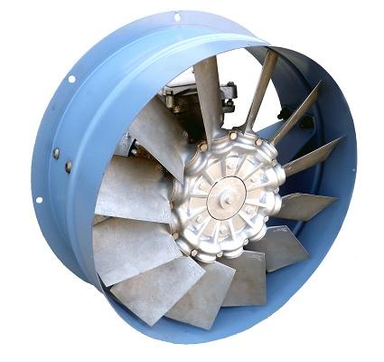 Axial fans Caexven Serie Ventilación - Electricity - Axial fans