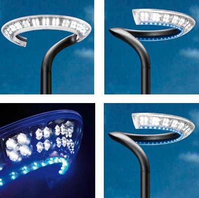 Luminarias de exterior schreder perla materiales para la for Luminarias de exterior