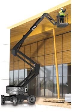 Foto de Plataformas elevadoras articuladas