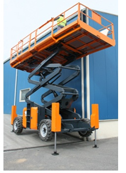 Foto de Plataformas elevadoras de tijera