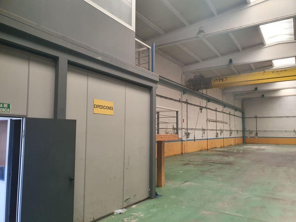 Fotografía de Se alquila nave industrial en Miranda de Ebro poligono de Bayas