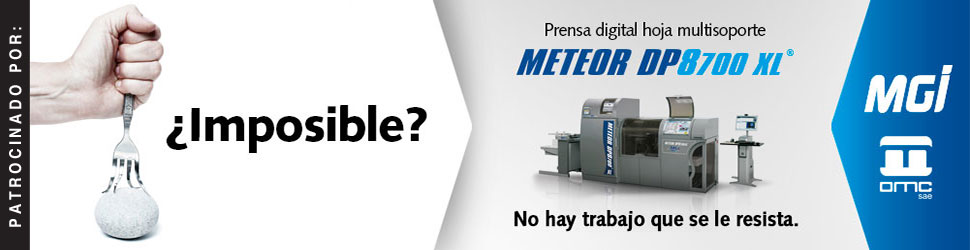 Metero DP8700 XL prensa digital hoja multisoporte