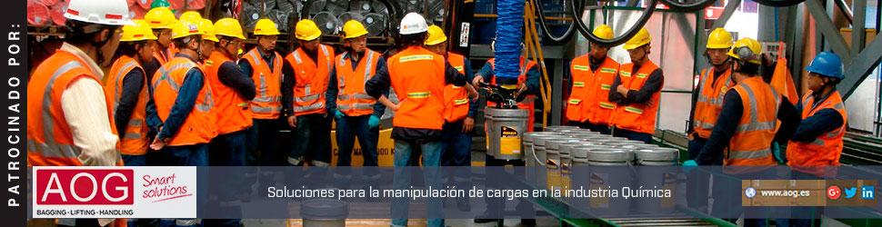 AOG: soluciones para la manipulación de cargas en la Industria Química