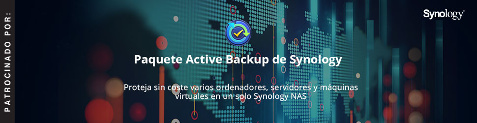 Paquete Active Backup de Synology