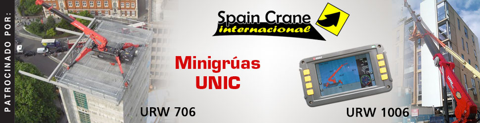 Spain Crane International, S.L.: Minigrúas Unic