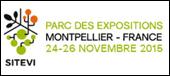Sitevi Parc des expositions Montpellier - France 24- 26 Novembre 2015