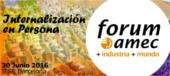 Forum Amec + industria + mundo - Internalización en persona - 30 de junio 2016 - IESE Barcelona