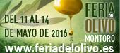 Feria del olivo Montoro del 11 al 14 de Mayo de 2016 www.feriadelolivo.es