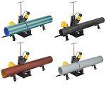 Cortadora de tubos móvil