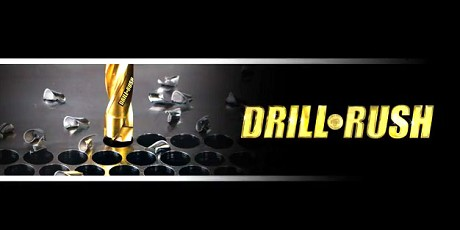 Holemaking drill rush