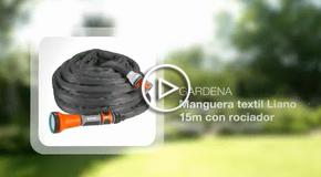 Vídeo Manguera textil Liano
