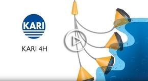 Vídeo Boya de nivel kari 4H: Único flotador en el mundo con 4 funciones  o  bien  Todo en uno (marcha paro alarma máximo y alarma de mínimo)