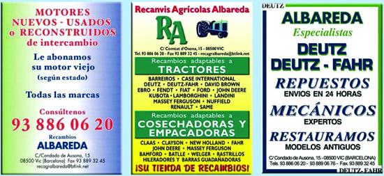 Recanvis Agrícoles Albareda, S.L.