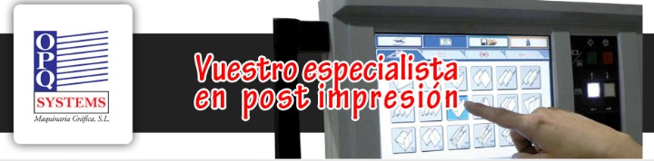 OPQ Systems Maquinaria Gráfica, S.L.