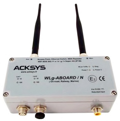 Point of access Wifi, Ethernet bridge &