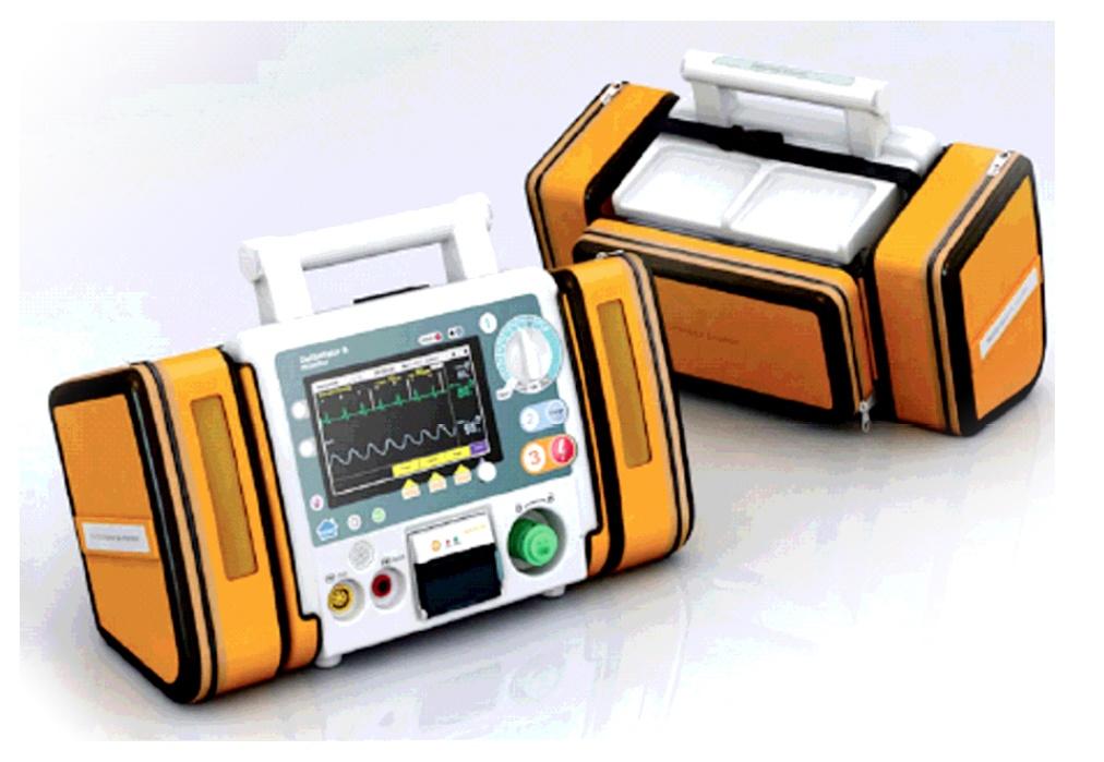 Defibrillator monitor CU Medical System CU-HD1 - Medical and