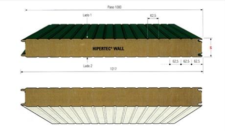 Paneles met licos para fachadas hipertec wall materiales - Materiales de construccion para fachadas ...