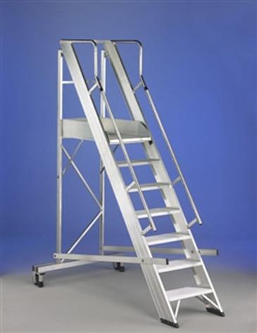 Escaleras profesionales svelt castellana maxi materiales - Escaleras para almacen ...
