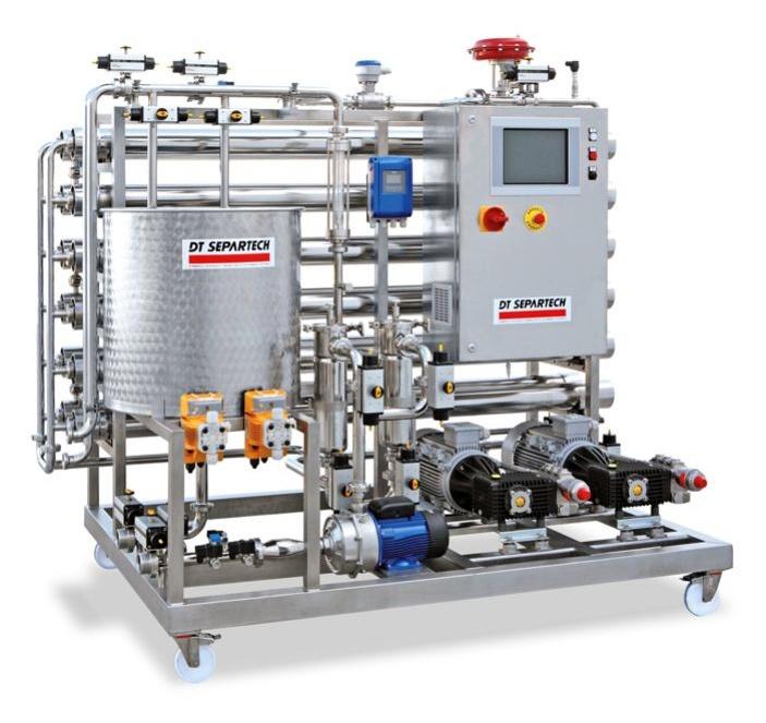 Equipos de smosis inversa dt separtech moviro industria for Equipo de osmosis