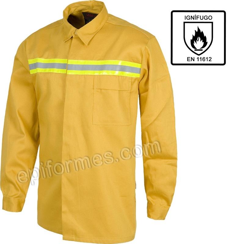 c214be145c7f7 Camisas ignífugas maquinaria equipos para construcción camisas jpg 376x400  Camisas de construccion